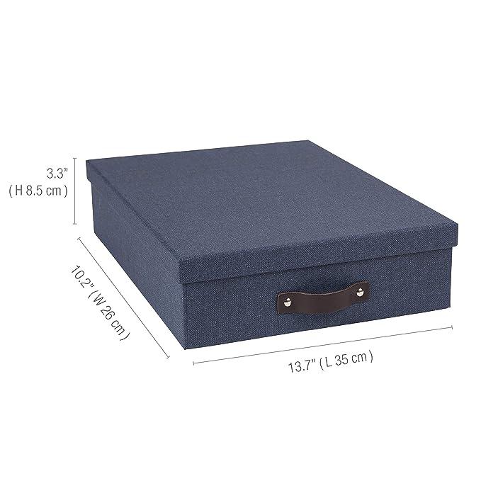 Amazon.com: Bigso Oskar - Buzón de papel laminado: Home ...