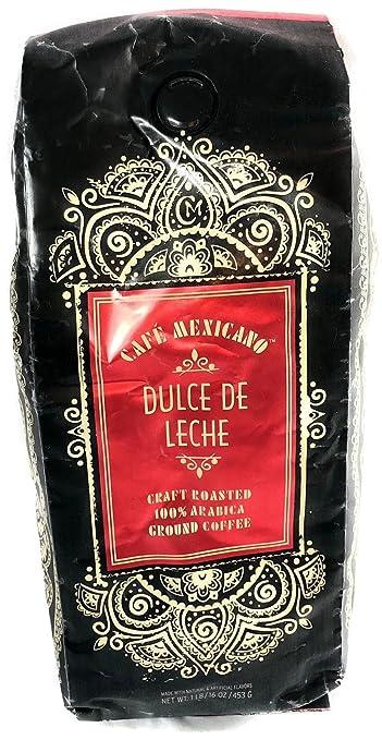 Cafe Mexicano Ground Coffee (Dulce De Leche)