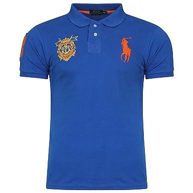 34342a08e9a3 Ralph Lauren Men s Masterclass Polo Shirt. Short Sleeve. Big Pony. Custom  Fit (M
