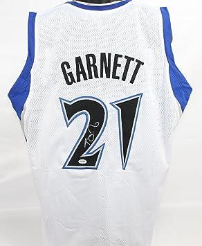 72b38ede7 Amazon.com  Kevin Garnett Autographed Minnesota Timberwolves Jersey PSA DNA  COA  Sports Collectibles