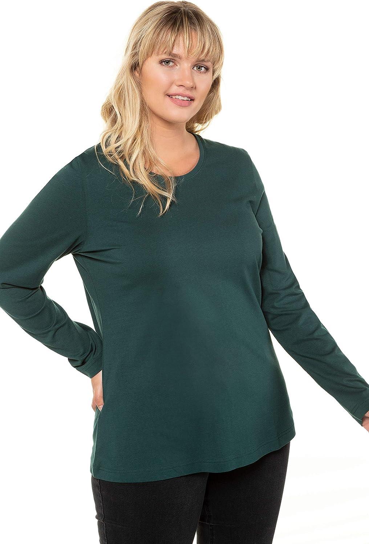 ULLA POPKEN Onlmirna L//S Pullover Knt T-Shirt Donna