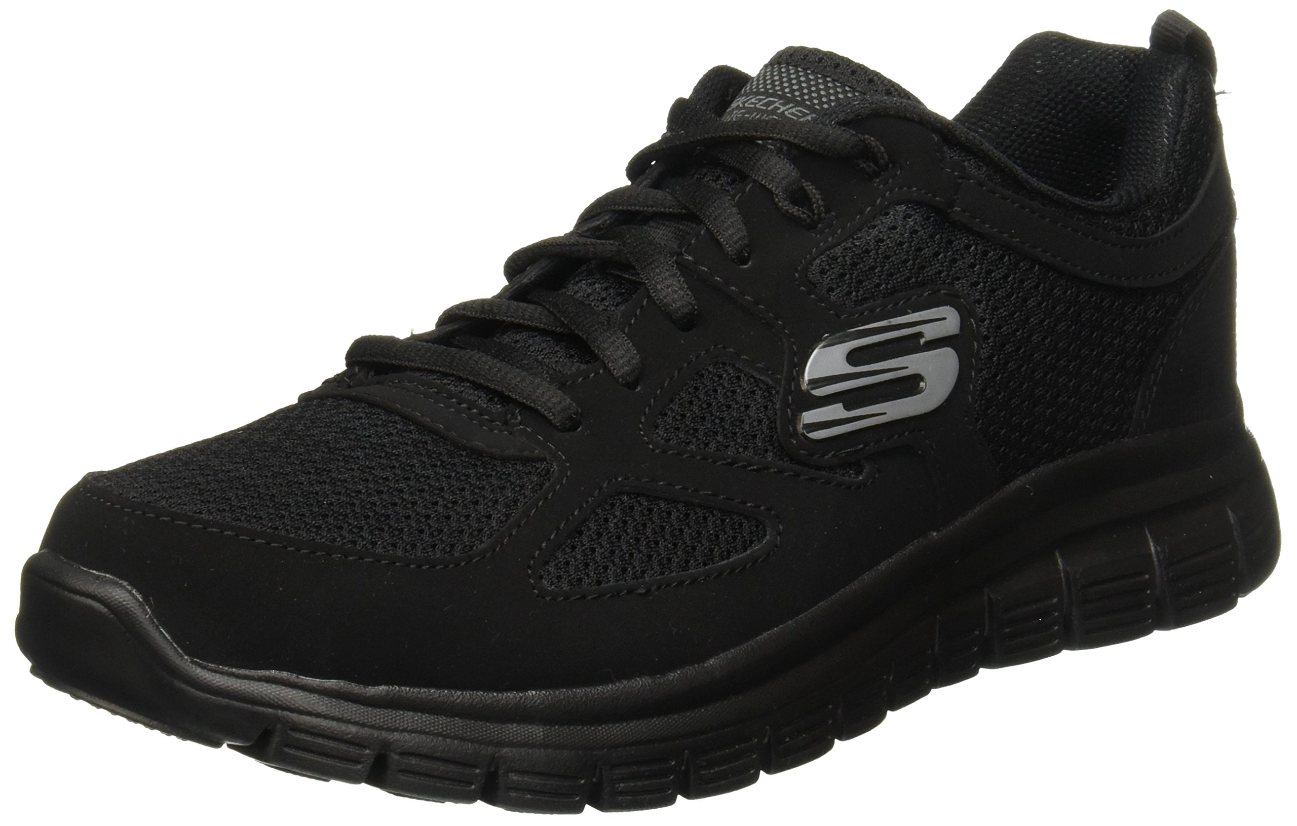 14da128c79 Skechers New Mens Gents Black Burns Agoura Lace Ups Trainers - Assorted -  UK Sizes 6-12