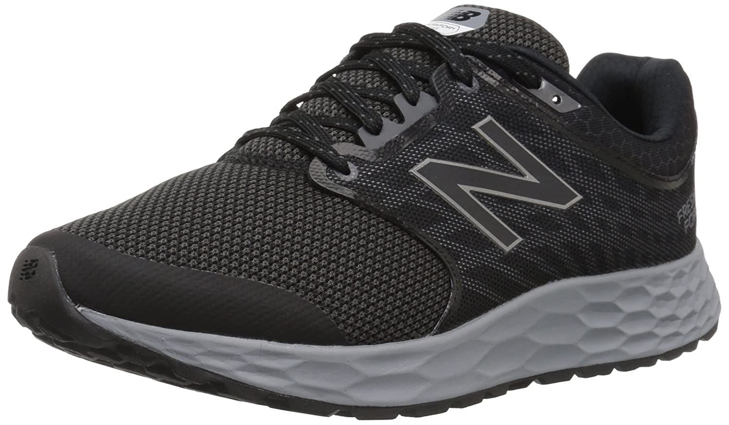 New Balance Men's 1165v1 Fresh Foam Walking schuhe, schwarz Silber, 10 2E US