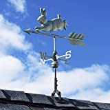 Good Directions Rabbit Weathervane with Roof Mount, Pure Copper