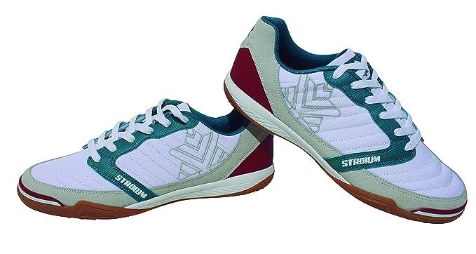 3e9cedb9a Luanvi FS STADIUM - Zapatillas de fútbol Sala, Unisex Adultos, Blanco, 39
