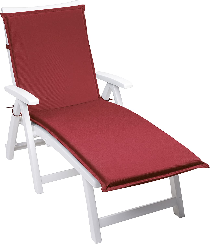 190 x 58 x 6 cm Rosso sleepling 193930 Cuscino per lettini da Giardino