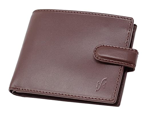 70692ddee STARHIDE Mens RFID Blocking Genuine VT Leather Credit Cards Coins Holder  Wallet 835 (Brown)  Amazon.co.uk  Luggage