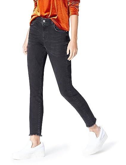 Top Marken Großhandel Wählen Sie für echte Amazon Brand - find. Women's Skinny High Rise Stretch Frayed Hem Jeans
