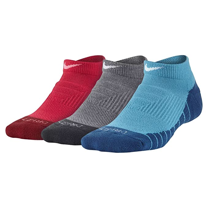 Calcetines Nike – Dry Cushion No-Show (3 Pair) rosa/gris/