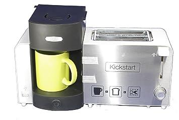Mini Kühlschrank Für Kaffeemaschine : Amazon frühstückscenter kickstarter kaffeemaschine