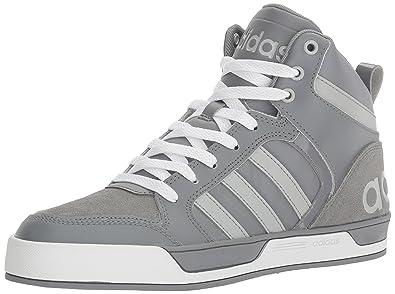 adidas NEO Men's Raleigh 9TIS Mid Basketball Shoe, Grey