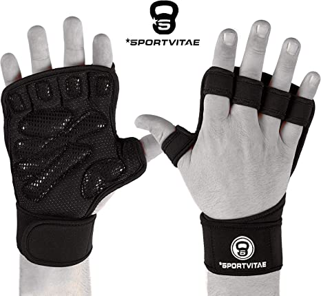 Sportvitae Calleras Crossfit Weightlifting Gloves Guantes de ...