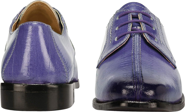 LIBERTYZENO Boys Lace Up Walking Dress Shoes EEL Skin Print Kids Genuine Leather Gliders Toddler//Little Kid//Big Kid