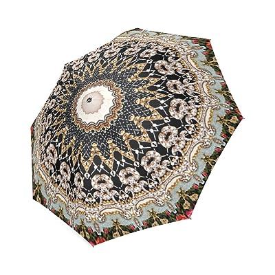 Personalized Hahusheze Fabric Rainy Sunny Umbrella
