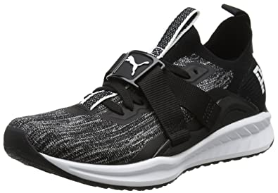 227c1b0908b381 Puma Women s Ignite Evoknit Lo 2 Wn S Black Running Shoes-4 UK India