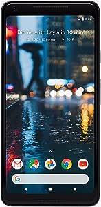 Google Pixel 2 XL Unlocked GSM/CDMA - US Warranty (Just Black, 64GB) (Renewed)