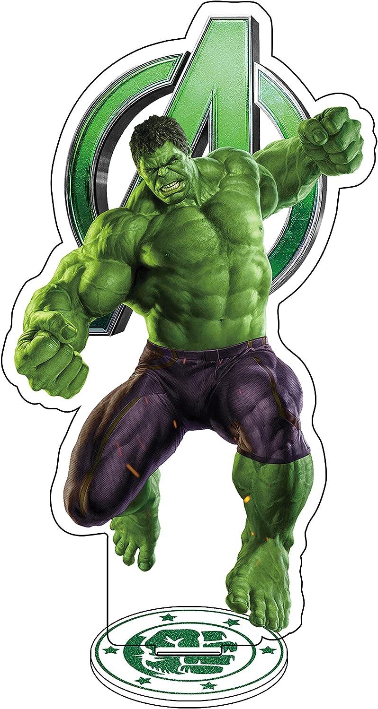 WXDGLL Hulk Figure Cutouts Decor Stand-Up Mini Acrylic Desk Display Card for Bedroom Kitchroom