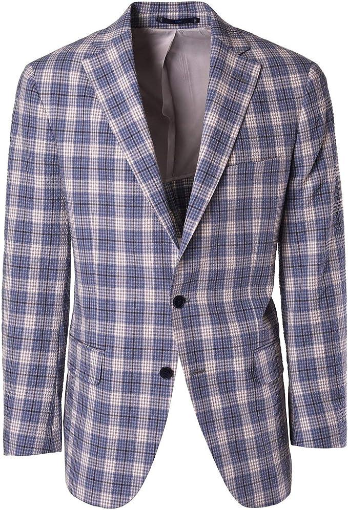 Haspel Seersucker Sport Coat Oyster Gray