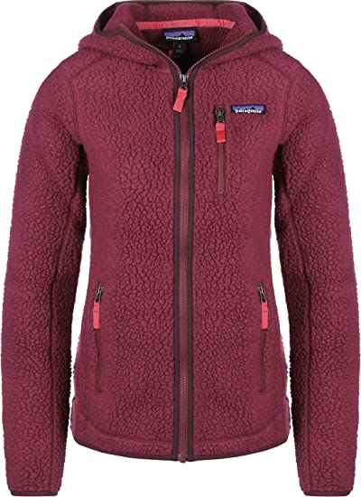 Patagonia Retro Pile Fleece Hoody Arrow RED AI18  Amazon.co.uk  Clothing 2c36b5d3a