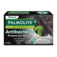 Palmolive Naturals, Jabón en barra, Charcoal Antibacterial, Fabricado responsablemente, con Humectante natural…