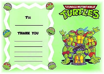 Teenage Mutant Ninja Turtles gracias por venir fiesta de ...