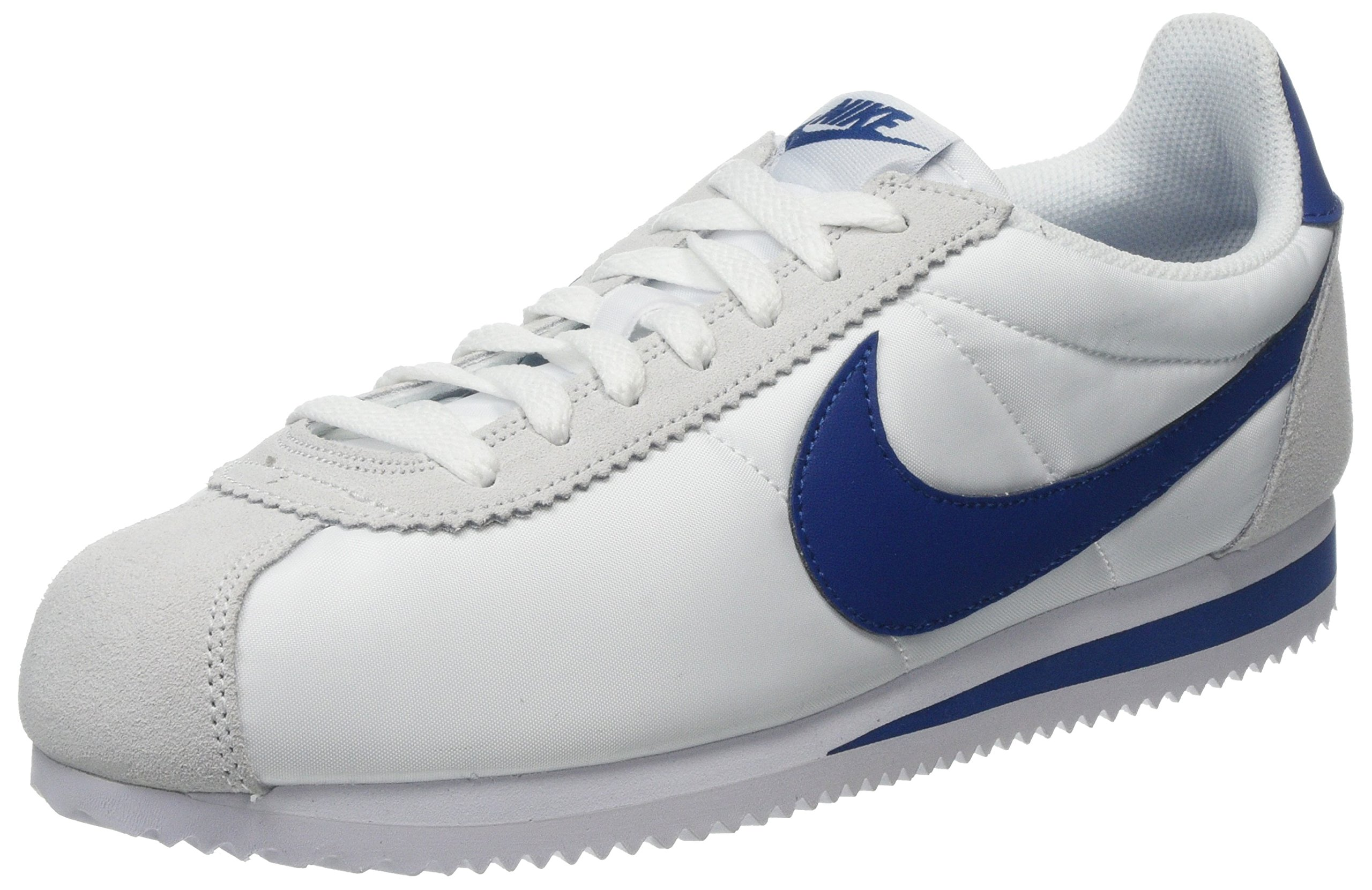 cheap for discount 730c1 ab692 Galleon - Nike Mens Classic Cortez Nylon Fashion Sneakers (11.5)