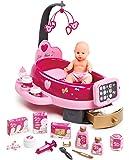 Smoby - 220317 - Baby Nurse Nursery Electronique avec Poupon