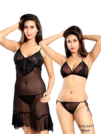 82cef604a0bf SkinWrap Women Babydoll Honeymoon Lingerie for Women