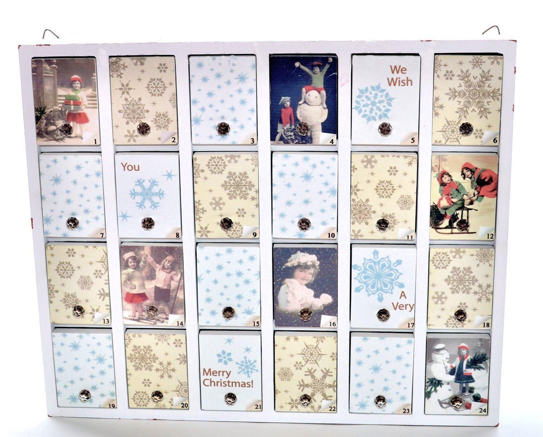 Christmas Wooden Chest Advent Calendar