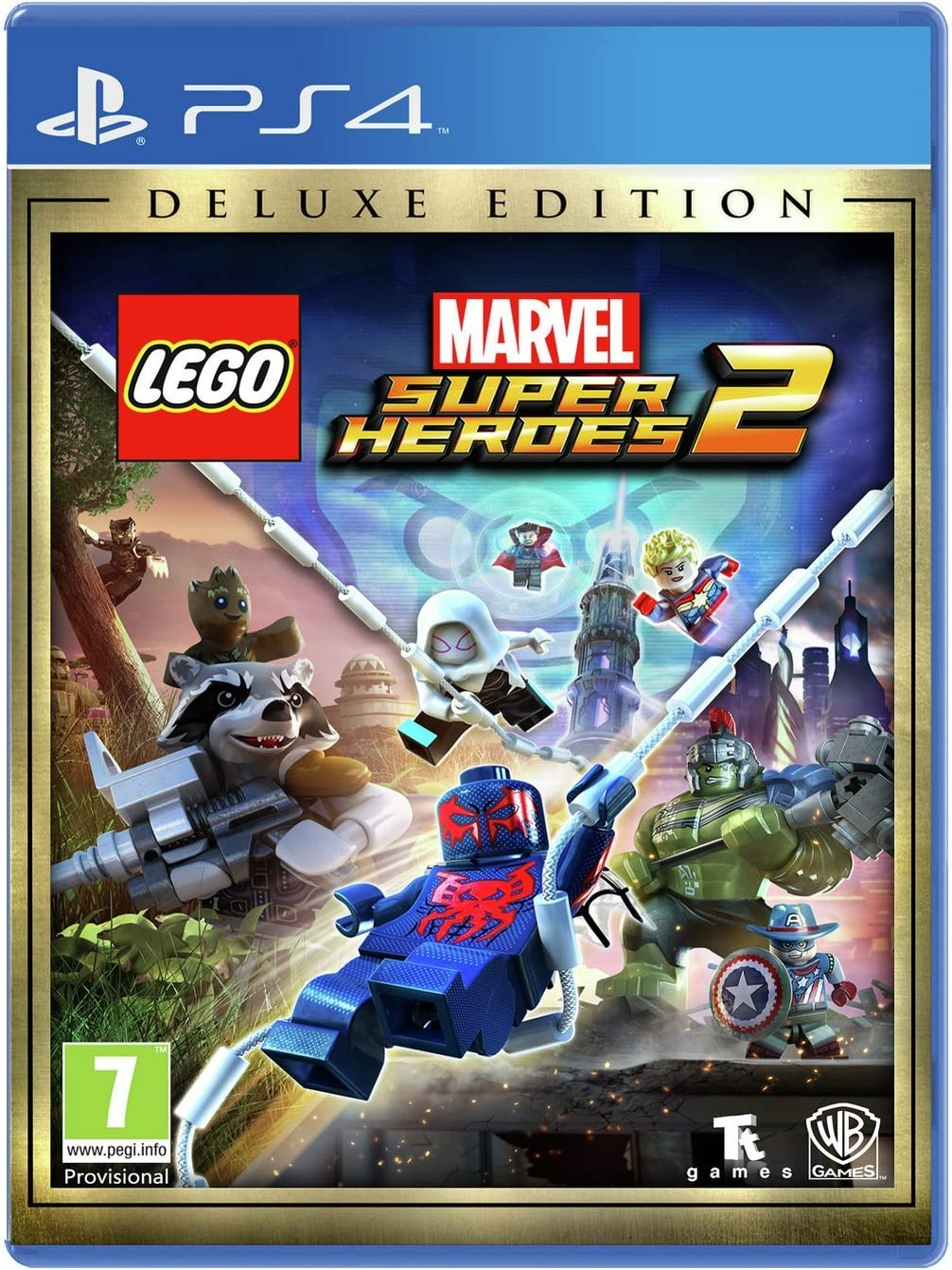 Lego Marvel Super Heroes 2 Deluxe Edition (Playstation 4) [importación inglesa]: Amazon.es: Videojuegos