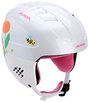 Alpina Girls Carat Ski Helmet Amazoncouk Sports Outdoors - Alpina helmets