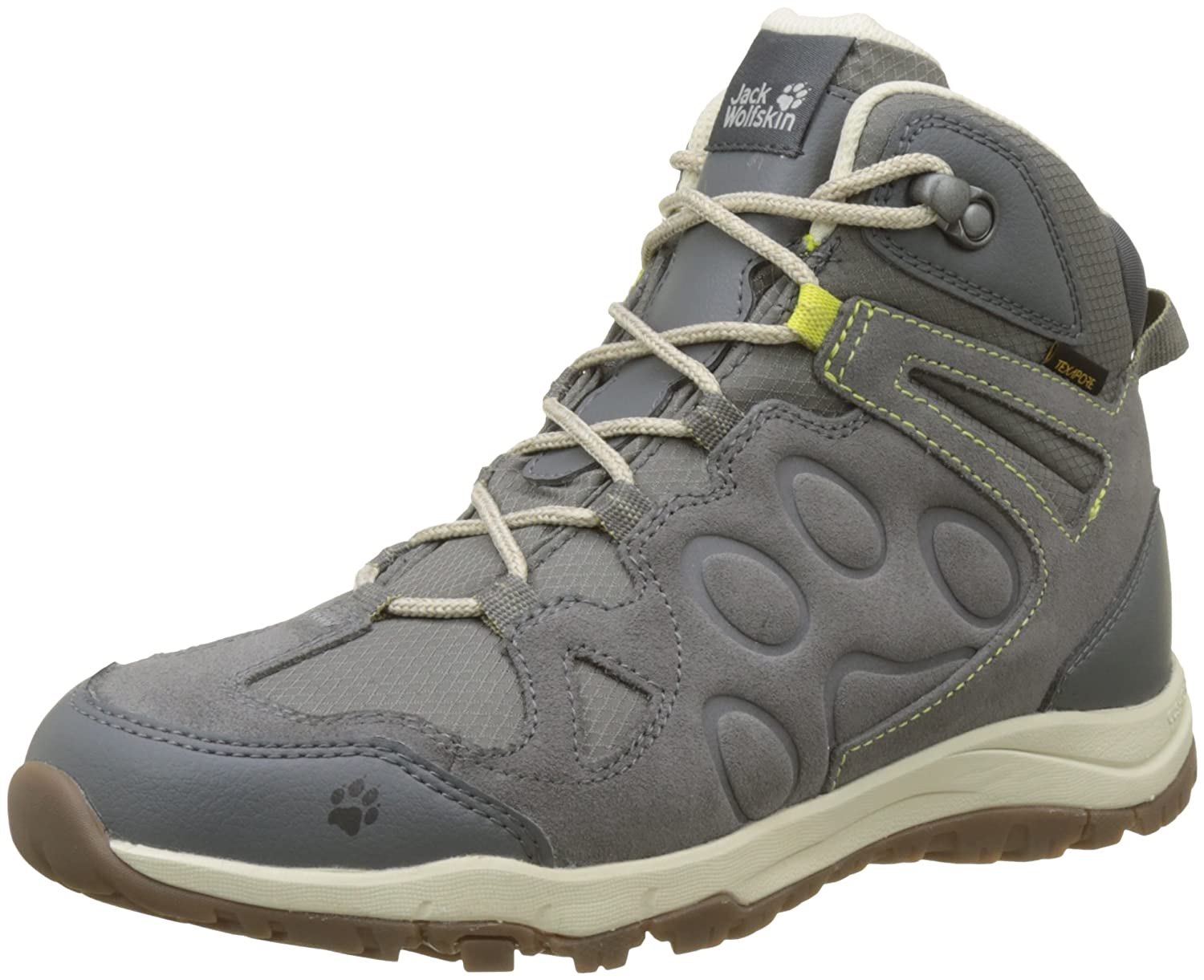 Jack Wolfskin Women's Rocksand Texapore Mid W Hiking Shoe