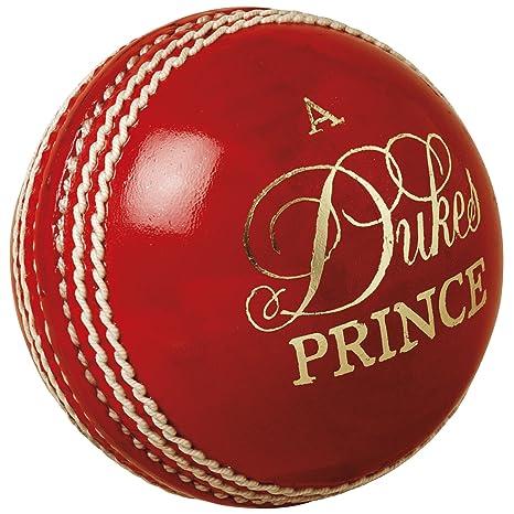 Duques de Cricket Pelota Príncipe - Rojo: Amazon.es: Deportes y ...