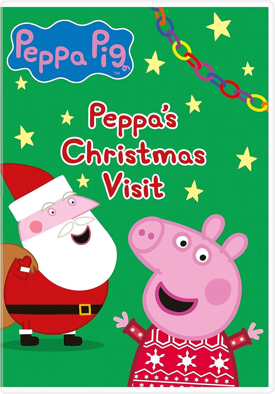 Peppa Pig Peppa S Christmas Visit Dvd 2020 Amazon Co Uk Dvd Blu Ray