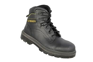 Camionneur - Chaussures De Sécurité En Cuir Pour Les Hommes, Couleur Noire, Taille 40