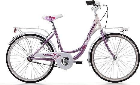 Cicli Cinzia - Bicicleta Liberty de niña, cuadro de acero, dos tallas ...