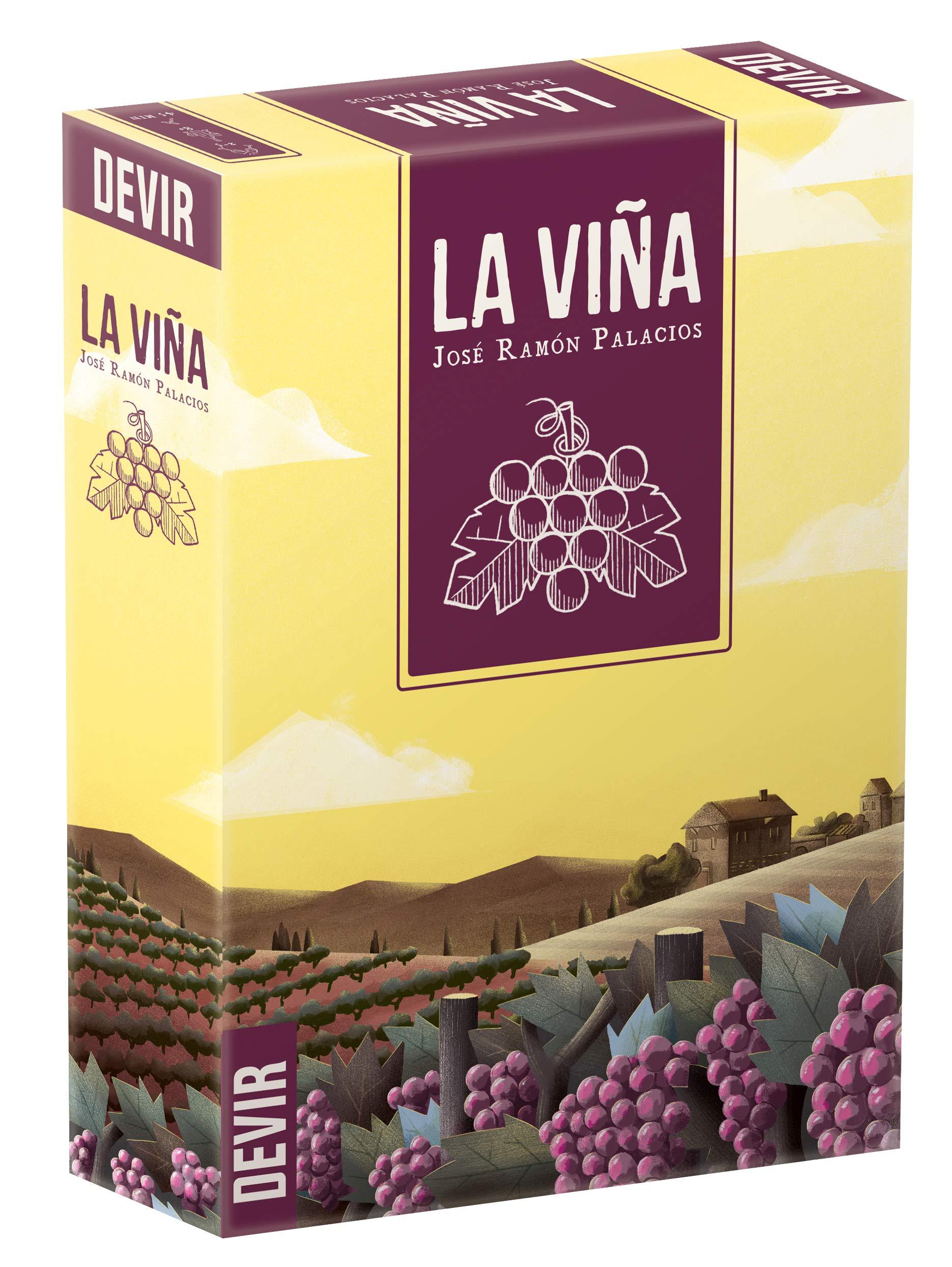 Devir - Juego La Viña Edición Española (8436017228236 ...