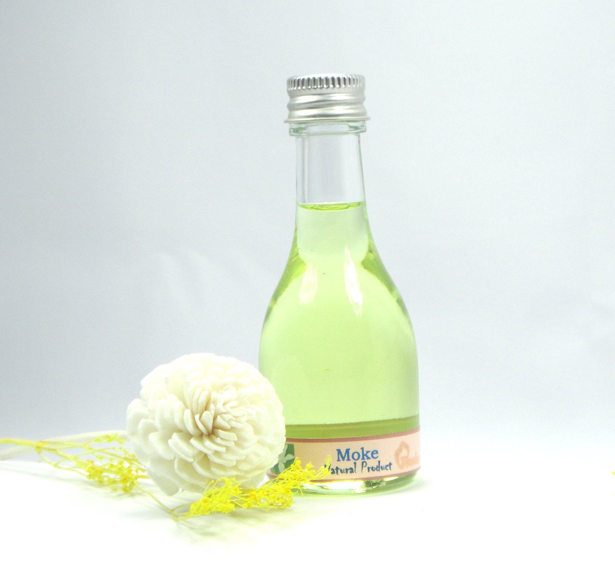 MOKE Reed Diffuser Fragrance Essential Oil Reed Diffuser Moke Flower 30ml./1 Oz