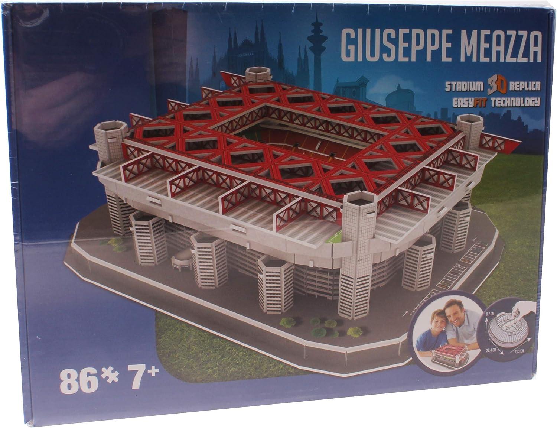 Inter Milan 3D Stadion Puzzel Giuseppe Meazza: Amazon.es: Juguetes ...