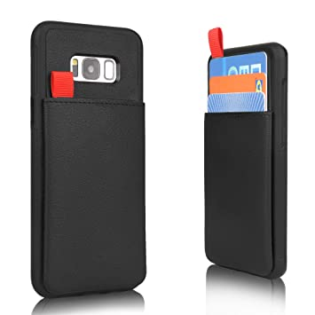 check out a75e3 444fe iPhone XS/X Wallet Case [Hidden Wallet Phone Case] MANGATA Triton Apple  iPhone XS, iPhone X Card Cases for Men Women, Rugged Shell, Credit Card ...