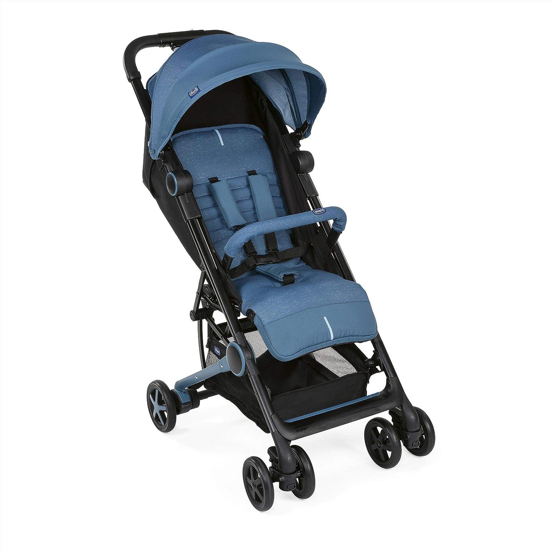 Chicco Miinimo 3 - Silla de paseo ultra compacta y ligera, solo 6 kg, color azul (Denim)