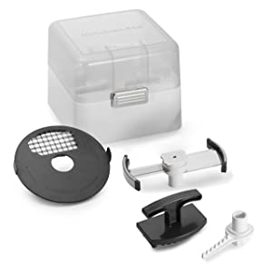 KitchenAid KSMFPAEP Food Processor Accessory Kit for model KSM1FPA