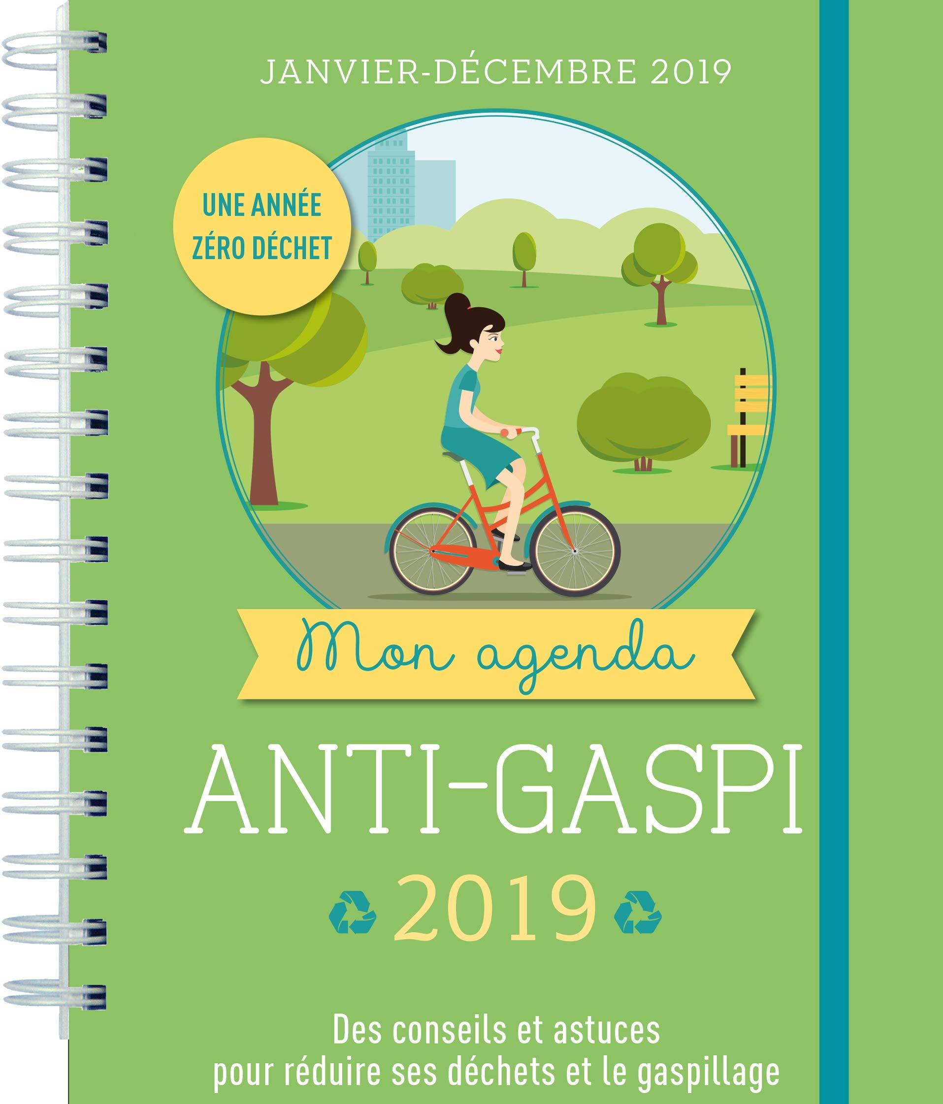 Mon agenda anti gaspi 2019 (Agendas Spirales): Amazon.es ...