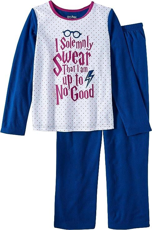 Harry Potter Film Poudlard Owl femmes Mesdames polaire Lounge sommeil Pantalons de pyjama