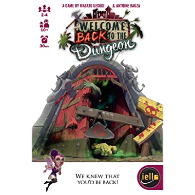 IELLO Welcome Back to The Dungeon Game: Toys & Games