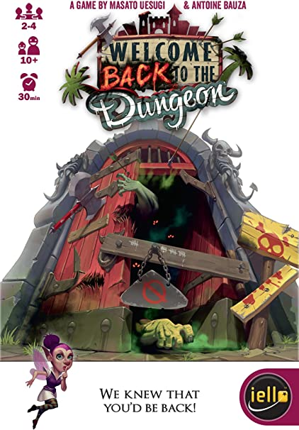 Amazon.com: IELLO Welcome Back to The Dungeon Game: Toys & Games