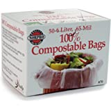 Norpro 100% Compostable Bags, 50 Count