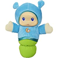 PLAYSKOOL - Lullaby Blue Glo Worm Stuffed Toy with Soothing Melodies- Baby and Toddler Comfort Toys- Ages Birth+