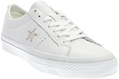 8f9d9183d3067d Converse Unisex Mens One Star Premium Leather Low Ox Fashion Sneaker ...