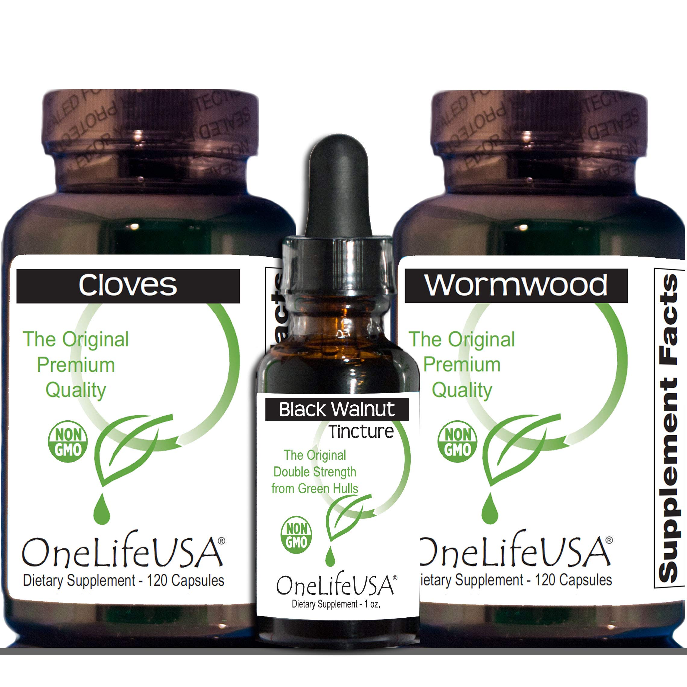 Original para Kit + 1 Maintenance Cycles - Products All Non-GMO and Established by Dr. Clark - This Cleanse Ships Free -100% Money Back Guarantee by OneLifeUSA